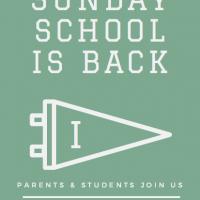 ICCA sunday school 2018